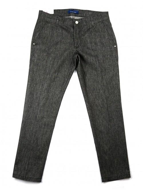 Entre Amis Men's trousers Art. A158257705 Tweed Black