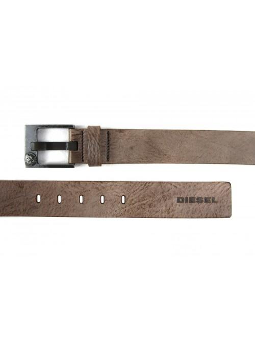 Diesel Cintura Unisex Bausy Service Marrone Antichizzato