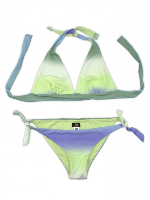 UI Rita Mennoia Women's Swimwear Bikini Green Gradient