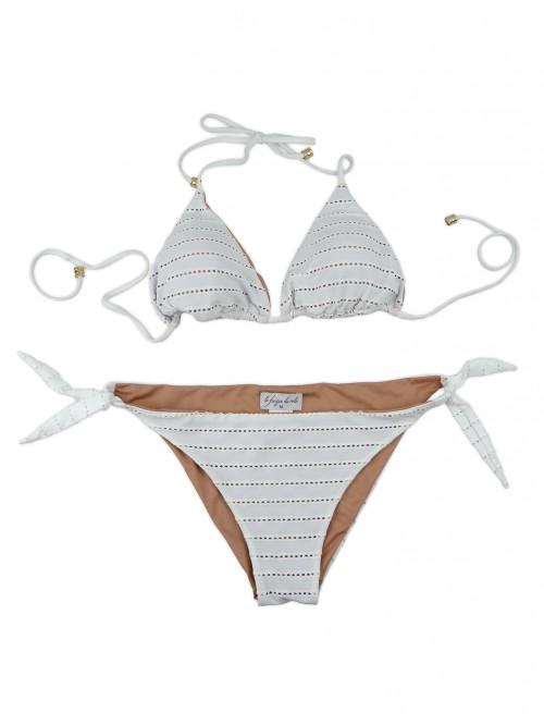 Le Fisique du Role Women's Swimsuit Art. EG1898NEFFA + A 58 White