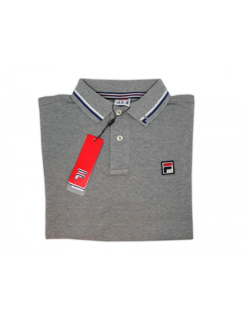 FILA Men's Polo Shirt Art. 3920000807 Gray