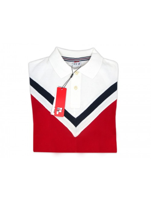 FILA Polo Man Art. 3920110700 Stretch Blue Arrow