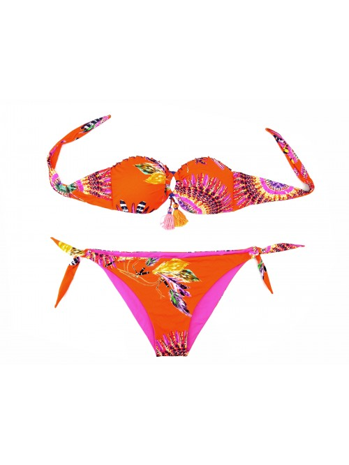 Le Fisique du Role Women's Swimsuit Mod.EGI830NEPPI + AR24 Feathers