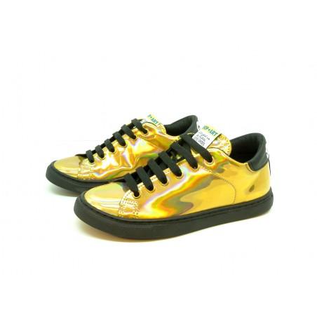 Shop Art Women's Shoes Gold Cangiante