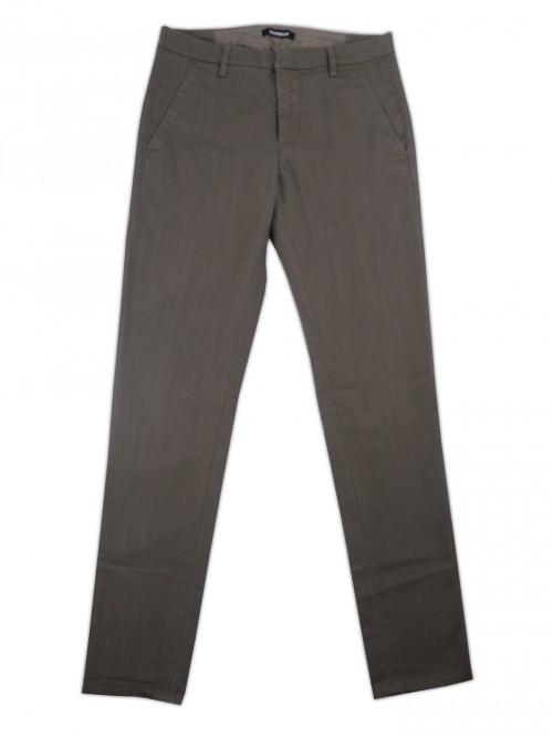 Dondup Man Pants Mod. UP235 Gaubert Col. 723 Grisaglia Mud