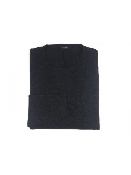 Ne Pas Men's Crew Neck Sweater Mod. 1/7227 Col 124 Anthracite