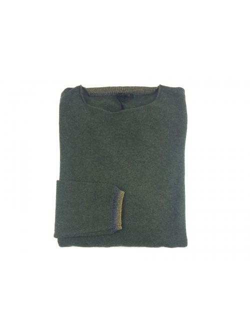 Ne Pas Men's Barchetta Sweater Mod. 1/7245 Col 135 Military