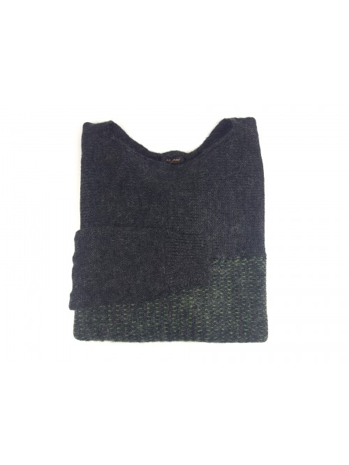 Ne Pas Men's Sweater Barchetta Mod. 1/5204 Col 139 Sage