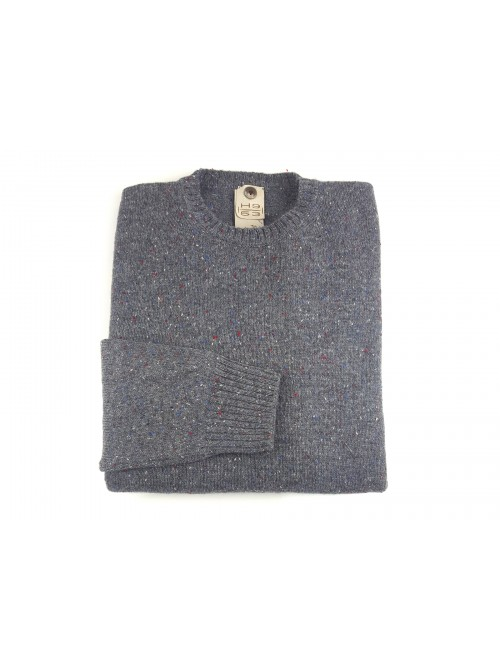 H9 53 Men's Athletic Crewneck Sweater Mod. HS2005 / ST Col 05 Gray
