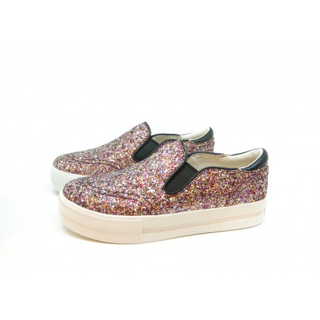 61554c963034d Women's Sneakers Jungle Starlights Glittery Multicolor slip on