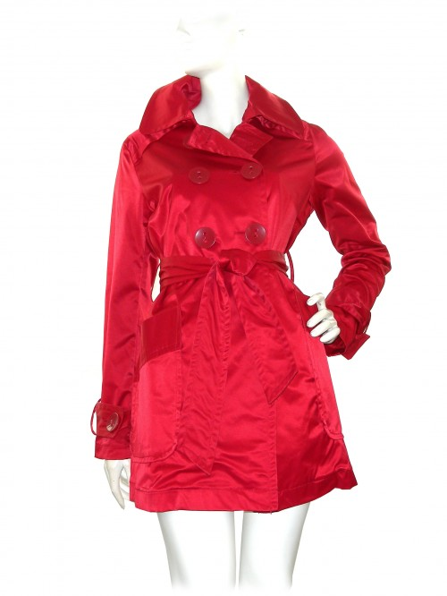 Zona Brera Waterproof Woman Jacket Art. Derek Red