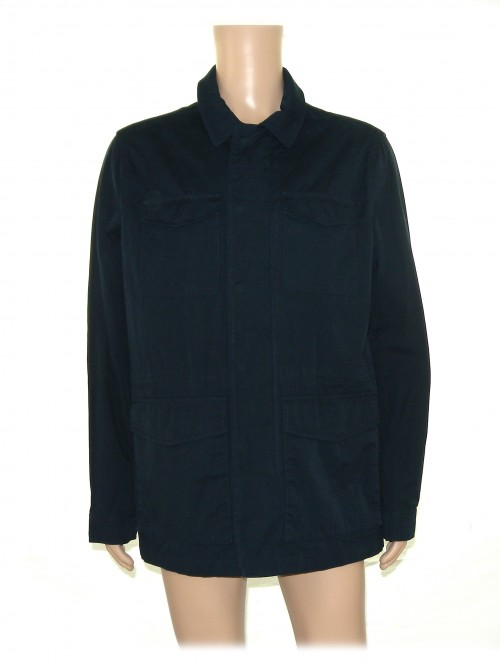 Geox Men's Jacket Mod. M8620H Saharan Jacket Light Blue