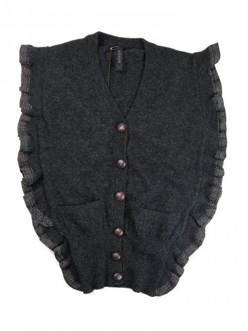 Coast Weber & Ahaus Women's Short Gray Volant Vest