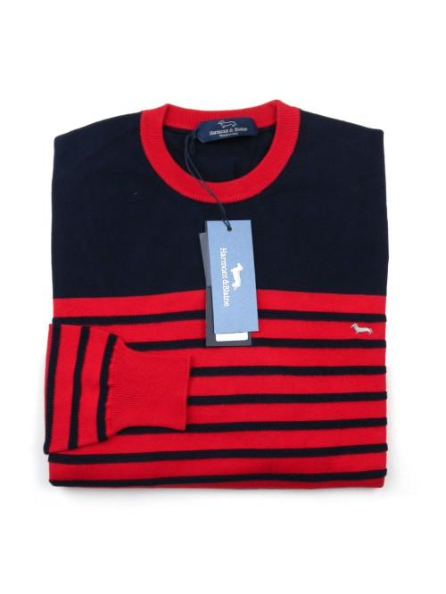 Harmont & Blaine Sweater Man Mod. H1737 30054 COL 847 Bluette