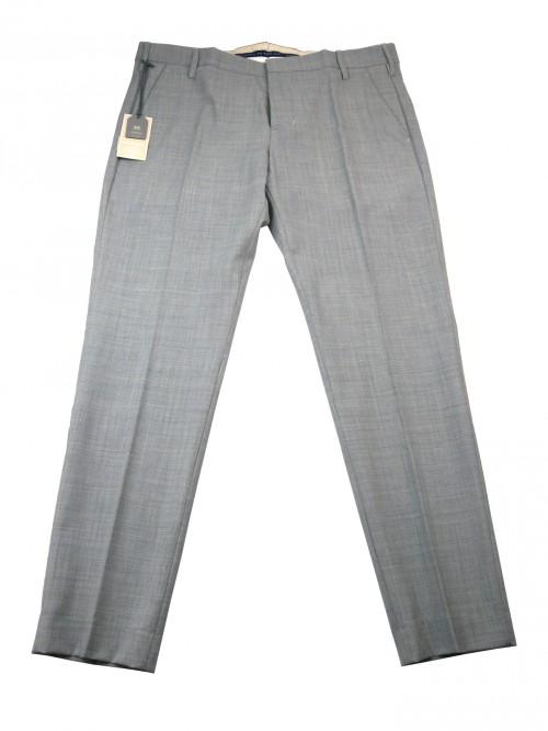 Entre Amis Men's Trousers Mod. P178188 / 868 COL 301 Pearl Gray