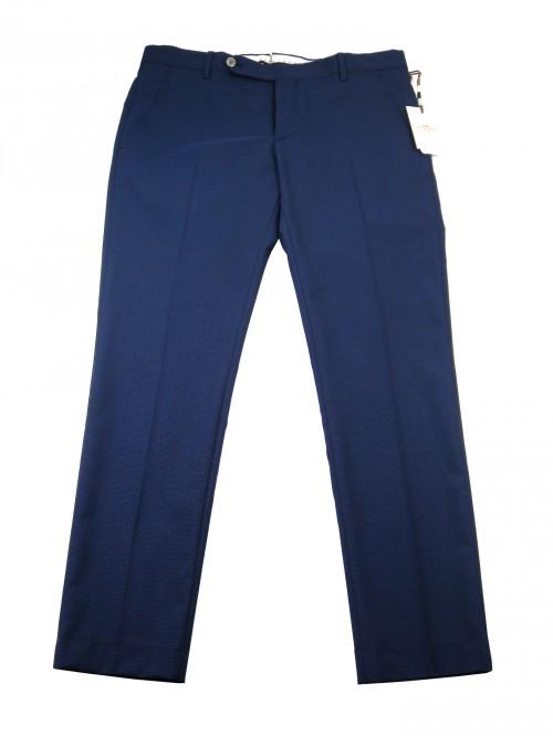 Entre Amis Men's Trousers Mod. P188345 / 1354 COL 400 Light Blue