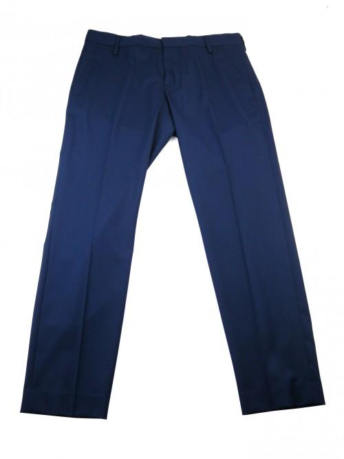 Entre Amis Men's Trousers Mod. P188188 / 430 COL 400 Blue