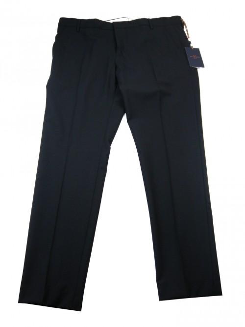 Entre Amis Men's Trousers Mod. P188188 / 868 COL 0401 Dark Blue