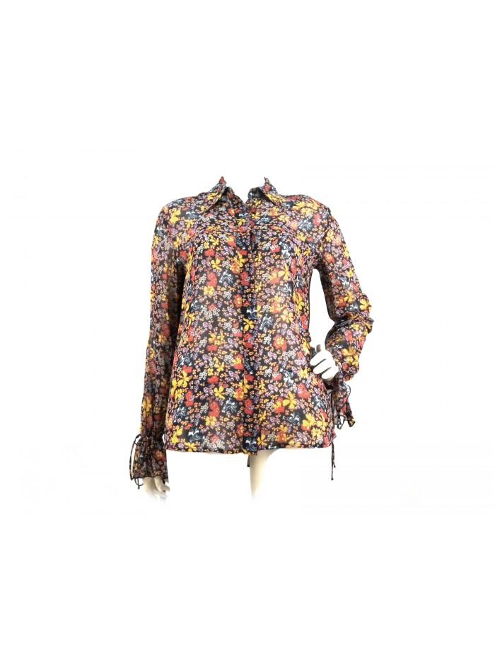 sports shoes ee3c5 39a75 Camicia Donna fantasia Coreana con fiori colorati