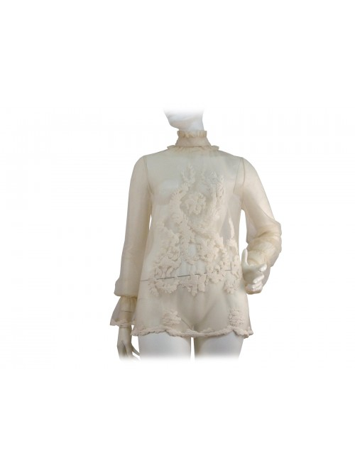 Blugirl Camicia Blouse Donna Ricamata