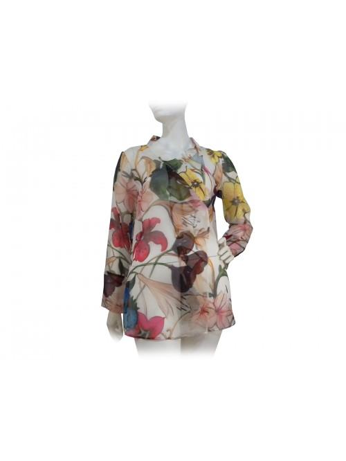 Dondup Camicia Donna Floreale
