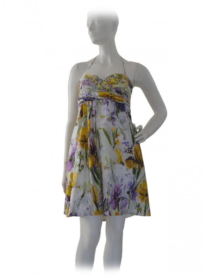 new style f6089 0b8d1 Blugirl Vestito Donna Floreale