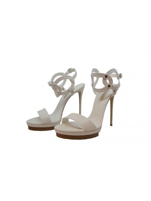 Casadei Women's White Sandals
