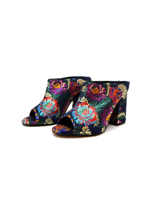 CHIO Women's Sandals 5048 Korella Blue/Multicolor