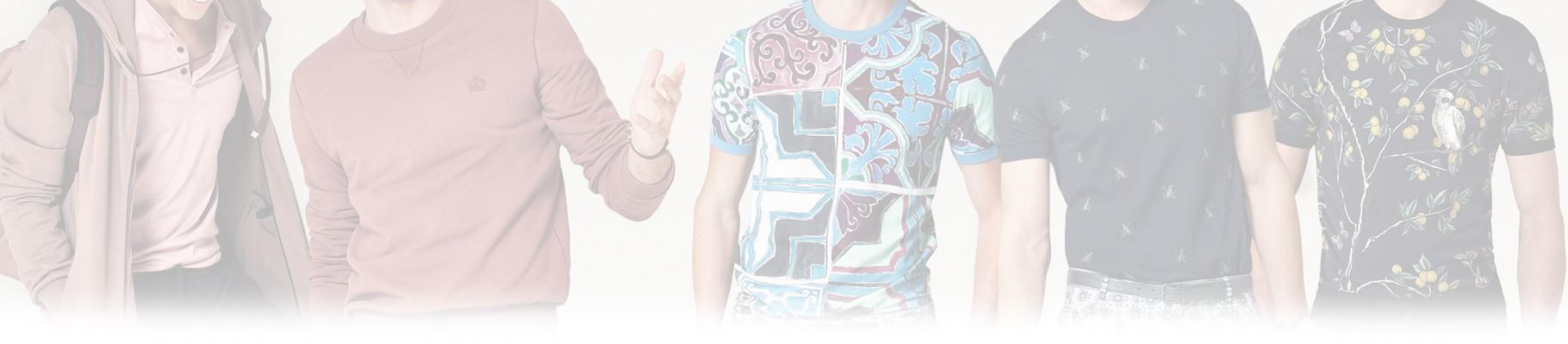 Nella sezione T-Shirt uomo troverete i migliori marchi d'abbigliamento