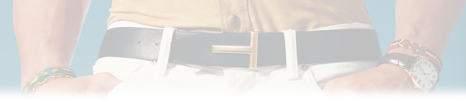 Men's belts signed by the best Italian and global fashion brands.