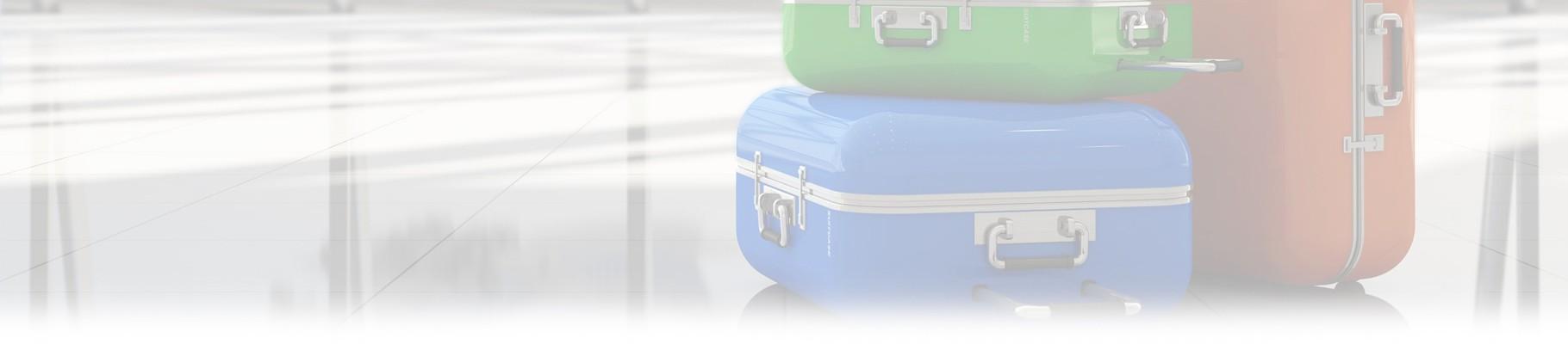 La prima cosa a cui pensare sono le valigie.