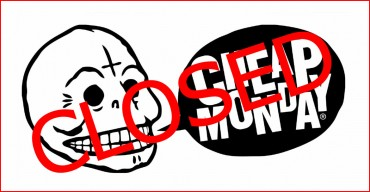 Cheap Monday declares STOP!!!